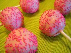 cake pop ideas cake pop recipe tutorial homemade strawberry cake pops girls birthday cake pops girl baby shower cake pops