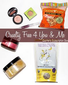 Cruelty Free For You and Me Subscription Box