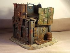 WarbossKurgan: Necromunda Underhive Scenery - now with added grime