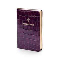 Is £99 too much to pay for a Purple Mock Croc Calf leather with gold gilt edged pages?! Plus I could get my name embossed for an extra 25 pounds.. tempting