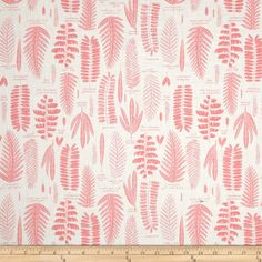 Amazon.com: Cloud 9 Organic Biology Fronds Pink Fabric