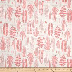 Amazon.com: Cloud 9 Organic Biology Fronds Pink Fabric