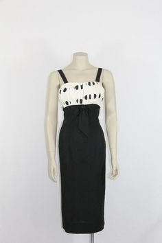1950's Vintage Party Dress  Black and by VintageFrocksOfFancy, $220.00