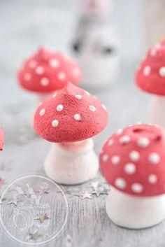 Meringues champignons