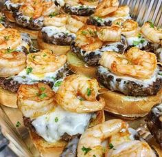 Grilled shrimp burgers