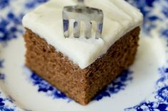 Easy, One Bowl Gingerbread Cake - this might just be the easiest, moistest, most delicious cake you've ever made! Neufchatel Cheese, Gingerbread Cake, Fabulous Foods, Yummy Cakes, Powdered Sugar, Four, Christmas Holiday, Christmas Recipes, Christmas Goodies