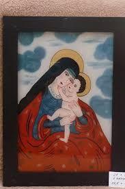 Výsledek obrázku pro poutovy obrazek svaty malovany sklo