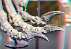 https://flic.kr/p/ftm7Dr   Claw Plateosaurus 3D   Naturalis Leiden anaglyph…
