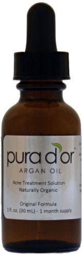 Pura d'or Organic Acne Treatment Solution (2 fl. oz.) ** MORE INFO @ http://www.sheamoistureproducts.com/store/pura-dor-organic-acne-treatment-solution-2-fl-oz/?b=4725