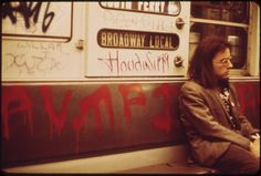 DOCUMERICA   By Erik Calonis   Photographs of New York Subway in 1973. See more at this link http://abduzeedo.com/photographs-new-york-subway-1973
