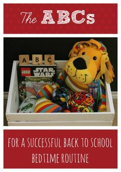 {The ABCs for a Successful Back-to-School Bedtime Routine} Make back to school easier on everyone with these simple tips for a successful bedtime routine...