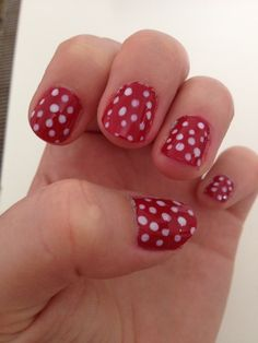 Retro style : red and white dots. My new baby !