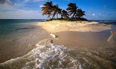 IMAGENS753: Papel-de-Parede-Ilha-do-Caribe