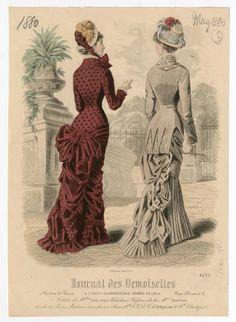 Women 1880, Plate 011 :: Costume Institute Fashion Plates