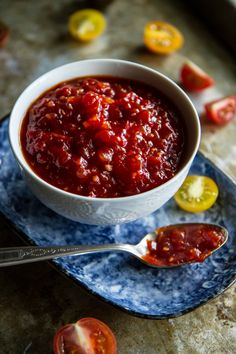 Tomato Ginger Jam from @heatherchristo