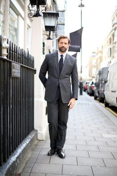 Patrick Grant: The Director of Saville Row's bespoke tailors Norton & Sons. Photographed by AnotherGarcon.