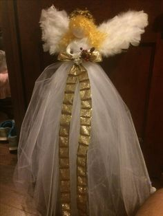 Pin By Darlene Beishline On Tulle Tomato Cage Angel Tomato Cage Crafts Tomato Cages