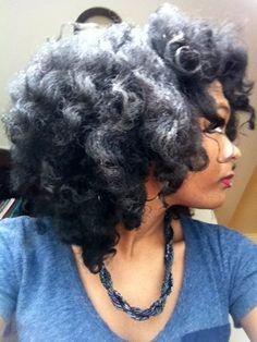 big curls & volume!