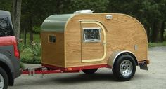 Check out this pictorial lesson on how to build a teardrop camper and hit the road for some outdoor adventure this summer.