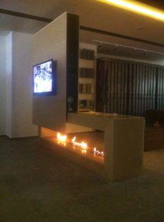 Ethanol burners, fireplace, Bioethanol burners, interior design, decoration, LCD unit, partition, decoration