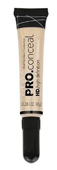 Girl Cosmetics Pro Conceal HD Concealer gelb Corrector 8 g Yellow Skin Tone, Dark Skin Tone, Even Skin Tone, Covering Dark Circles, La Girl Cosmetics, Corrector Concealer, Cosmetic Items, Baby Oil, Permanent Makeup