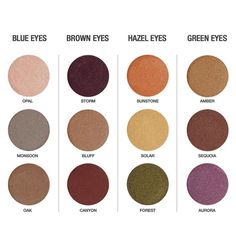 Play up your eyes by accentuating the color you were born with. #plantbased #makeup #glutenfree #vegan #beauty #makeup #arbonne
