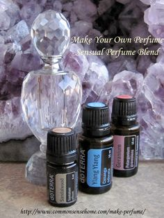 Skip the toxic chemicals commonly used in commercial fragrances and make perfume with essential oils. Great for yourself or as a homemade gift.