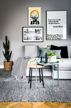 The best collection of Great Living Room Decor Ideas, Latest and best Living Room Decor ideas, Best living room designs. Home Living Room, Living Room Designs, Living Room Decor, Gray Interior, Home Interior Design, Living Room Inspiration, Home Decor Inspiration, Vintage Inspiriert, Beautiful Living Rooms