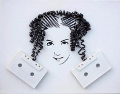 This reminds me of the 80's when cassette tapes were so popular!