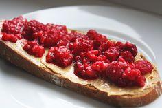 #healthy #food #breakfast #fruit #raspberry
