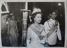 The Royal Collection: HM Queen Elizabeth II Attends State Banquet in Bangkok