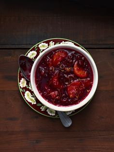 Cranberry-Clementine Sauce #thanksgiving #sides #holidays #family