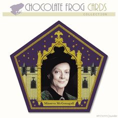 CHOCOLATE FROG CARDS, MINERVA MCGONAGALL