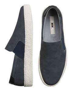 8365c5945fea1b Joseph Abboud Dove Gray Slip-On Sneakers - Men s Casual Shoes