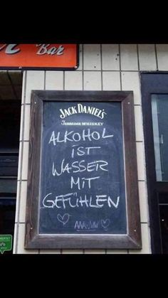 Alcohol is water with feelings - Grafiti. Be Still Tattoo, Self Love Books, Street Quotes, Words Quotes, Sayings, Alcohol, Mixed Feelings, Facebook Humor, Funny Signs