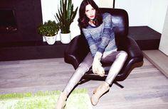 "Ruby Aldridge for Holt Renfrew ""Spring Guide"" Campaign by Francisco Garcia"