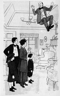"""concept art for mary poppins """"I love to laugh"""""""