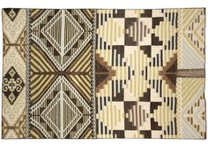 Stay calm, cool and collected with this Tesoro Metalico Rug by Inigo Elizalde