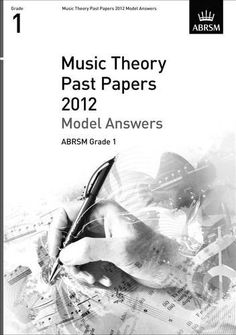 ABRSM Theory of Music Exams, Grade 1, 2012 - Model Answers
