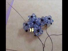Tutorial perline: come fare una croce con perline superduo. Superduo cross - YouTube Beading Projects, Beading Tutorials, Beading Patterns, Cross Jewelry, Beaded Jewelry, Bead Crafts, Jewelry Crafts, Crochet Coaster Pattern, Right Angle Weave