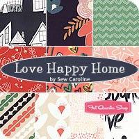 Love Happy Home Fat Quarter Bundle<BR>Sew Caroline for Art Gallery Fabrics