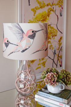 Anna Jacobs Rose Hummer Medium Table Lamp with Rose Flex - - Pomegranate Living Spray Paint Lamps, Home Crafts, Diy Crafts, Best Desk Lamp, Pink Lamp, Home Decor Furniture, Deco Furniture, Modern Furniture, Furniture Design