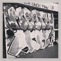Graffiti in St Georges Walk Croydon