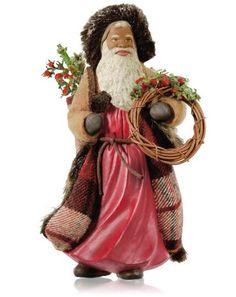 2014 Hallmark Ornament - Father Christmas - African American - Hallmark Keepsake Christmas Ornaments