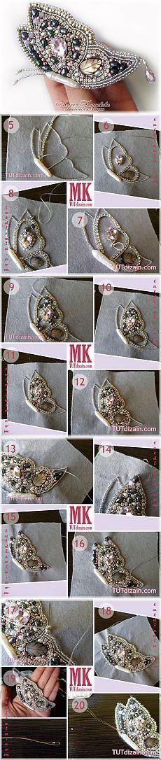 17 pomysłów: Koraliki, Biżuteria i nie tylko – WP Poczta Bead Jewellery, Beaded Jewelry, Jewelery, Handmade Jewelry, Bead Embroidery Jewelry, Beaded Embroidery, Bead Crafts, Jewelry Crafts, Crazy Quilting