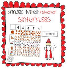 Rekenen - Tel-tabel | Thema SINTERKLAAS