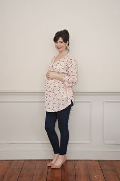 6bd97724fb0fe Sew Over It Blossom Top - maternity pattern for pregnancy, nursing and  beyond! https