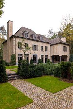 Belgian design, lovely Dutch bricks