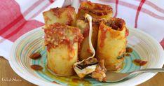 Paccheri ripieni di melanzane e mozzarella | Ricette sfiziose di Rosaria | Bloglovin'