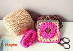 Monedero Mamen, crochet